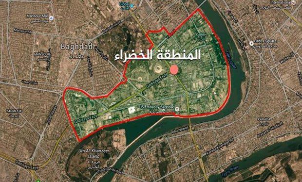 سفارت آمریکا در بغداد مورد حمله راکتی قرار گرفت