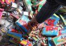 کشف ۸ هزار عدد مواد محترقه در مرکز پایتخت