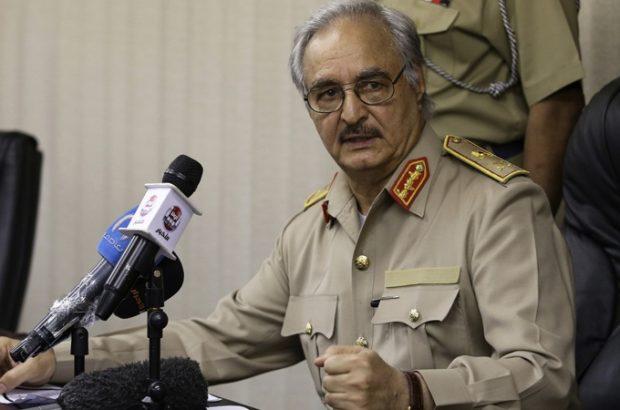 خلیفه حفتر توافق آتش بس لیبی را امضا نکرد