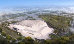 کلنگ پارک آبی بزرگ شیراز توسط مهندس اسکندرپور به زمین زده شد