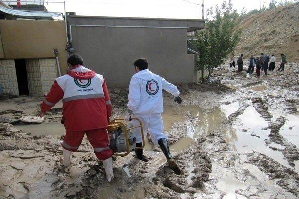 امدادرسانی به ۴۸۶ نفر طی ۷۲ ساعت گذشته